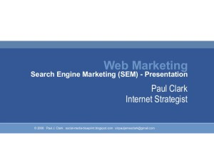 Search Engine Marketing Presentation 2