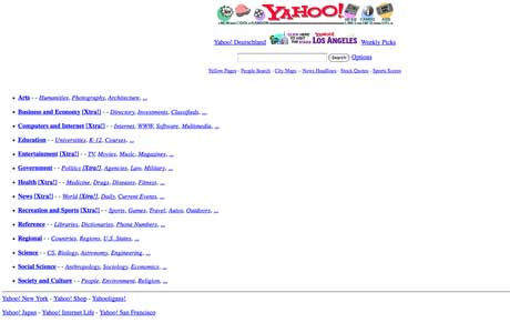 yahoo old version