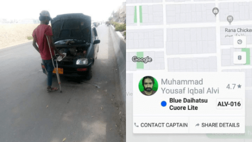 Handicap Careem Driver From Pakistan Is An Inspiration For All