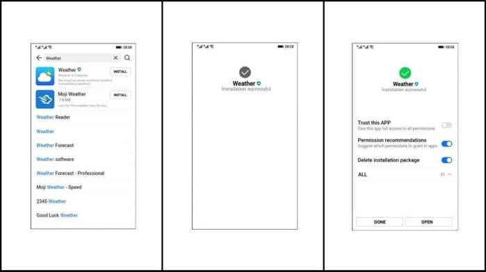 Hongmeng Ark OS huawei UI UX 2
