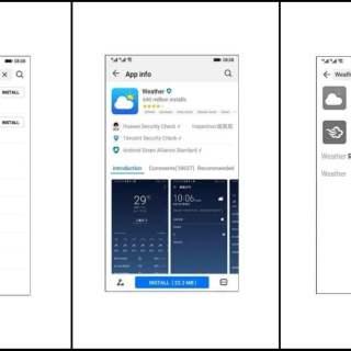 Hongmeng Ark OS huawei UI UX
