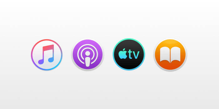 Music Podcasts and Books Apps for macOS 10.15