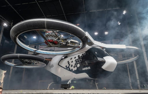 paris flying taxis olympics 2024