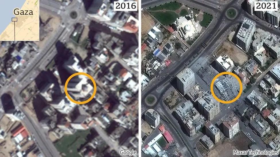 gaza 2016 to 2021
