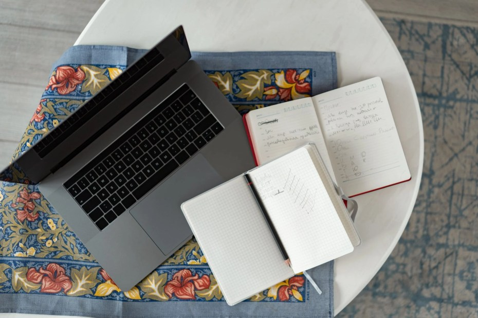 wood vacation laptop notebook