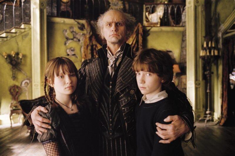 """Kont Olaf :""""Hayır, bu çocukları aşılamanıza izin vermeyeceğim."""""""
