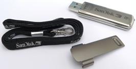 SanDisk Cruzer Titanium U3