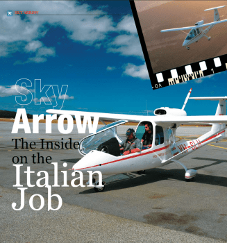 Sky Arrow – The Inside on the Italian Job