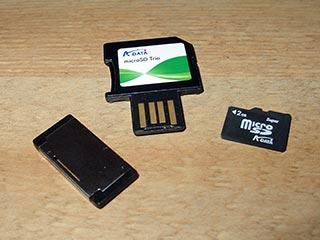 Adata microSD Trio