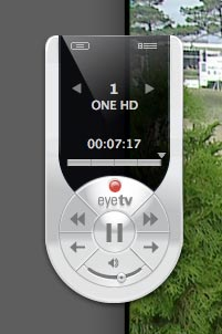 EyeTV DTT Deluxe Software Remote Control