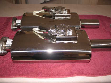 2 x VMK10-250 mufflers