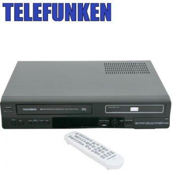 Telefunken Platinum Telf50 DVD/VCR Recorder Combo