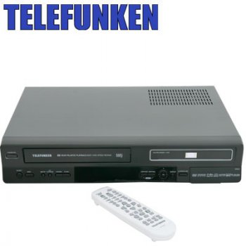 Telefunken Platinum Telf50 DVD/VCR Recorder Combo – Reviewed