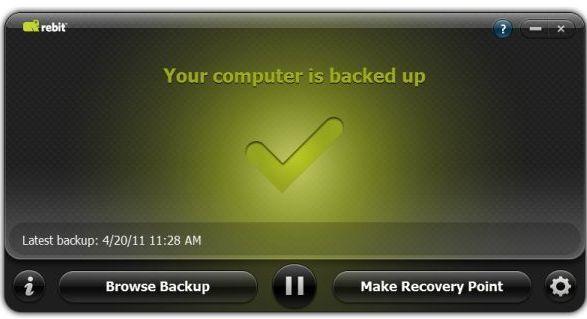 Rebit 5 - Easy Back-Up Solution