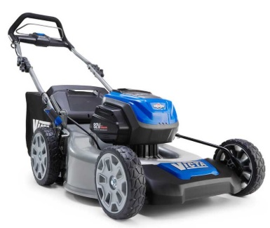 "Victa Cordless 21"" Mower Cuts More than Grass: 82V and Two Batteries for Hours of Mowing"