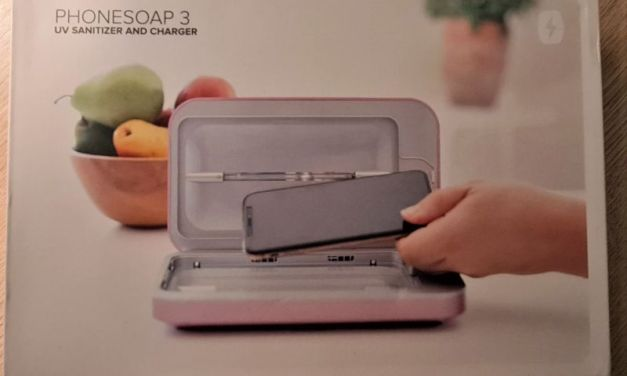 PhoneSoap 3 UV Smartphone Sanitiser & Charger – the 2020 Must-Have Item?