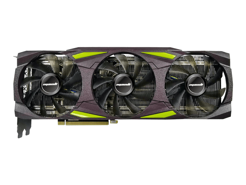 Manli GeForce RTX 3000 series based on nVidia Ampere