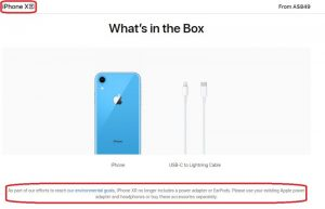 iPhone XR - No more charger?!