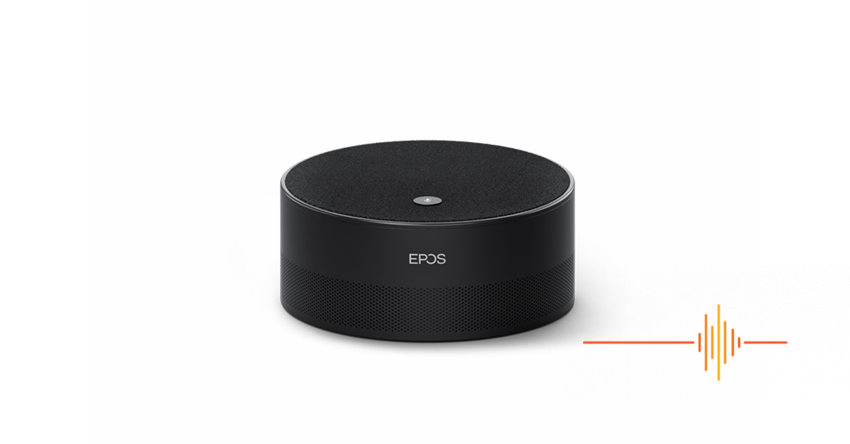 EPOS EXPAND Capture 5 – Intelligent speaker for the Hybrid Workplace