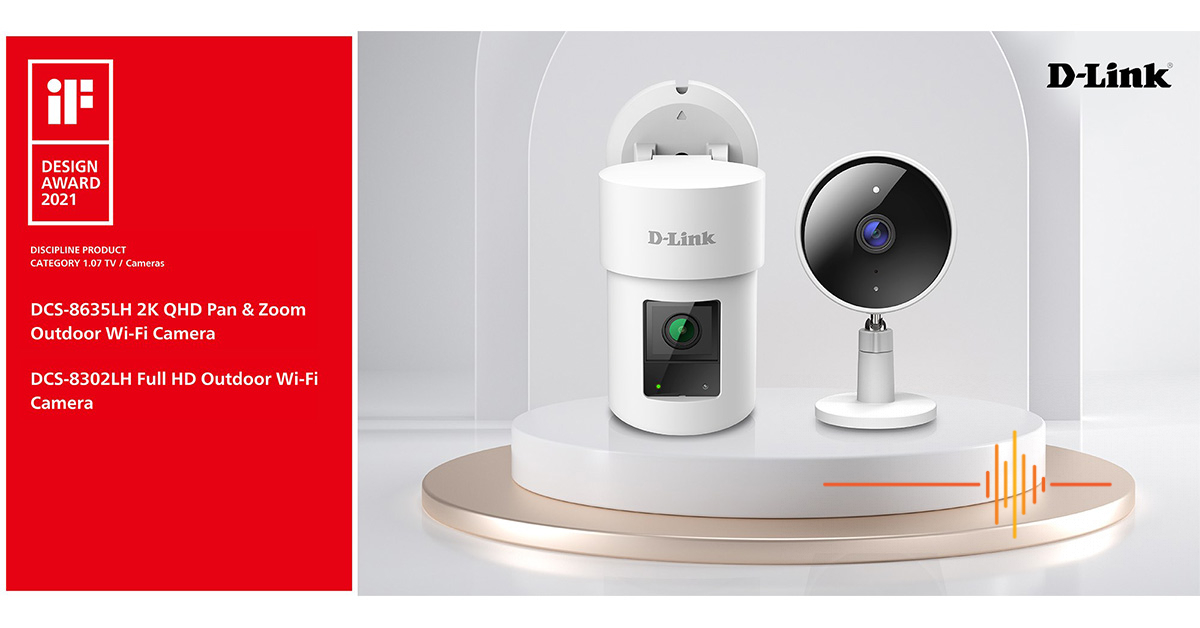 D-Link Wins Two 2021 iF Design Awards for Product Design Excellence