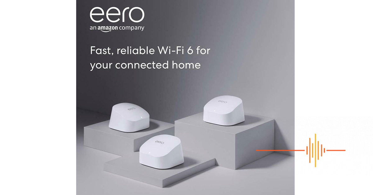 The all-new eero 6 mesh Wi-Fi lands in Australia