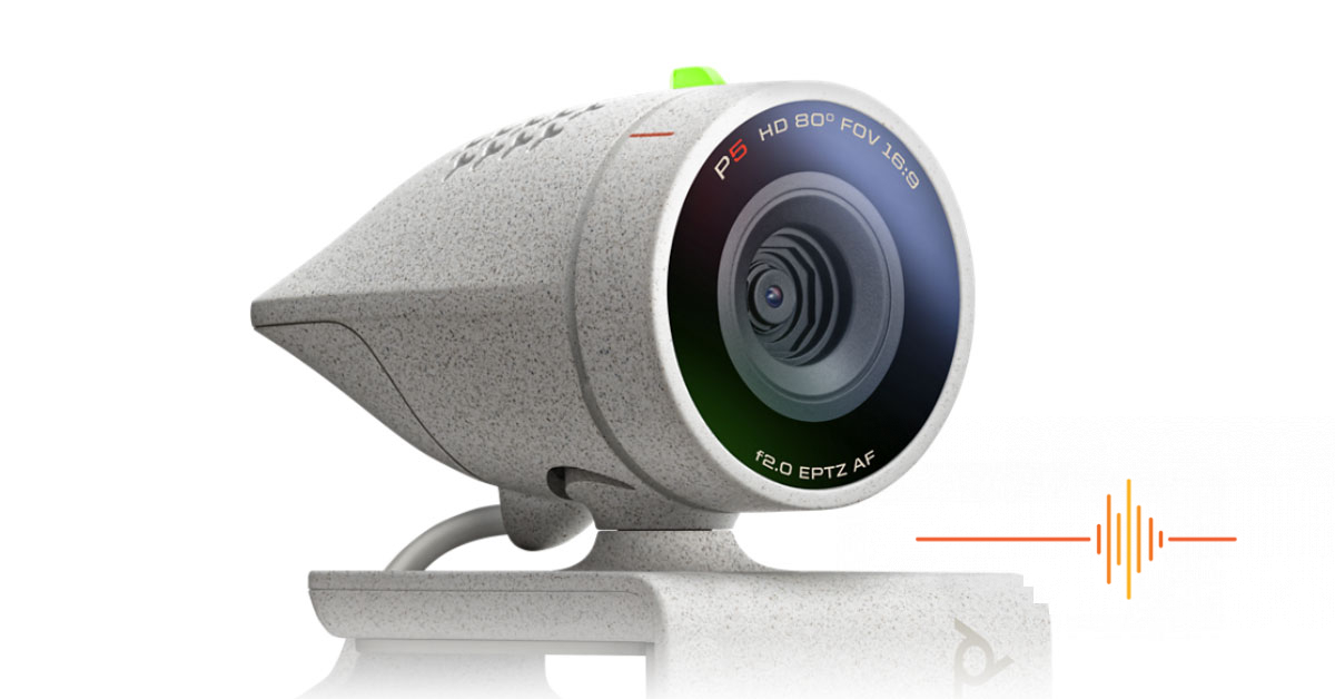Poly Studio P5: Breaking the mould of personal webcams.