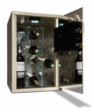 Wine Safe Opened