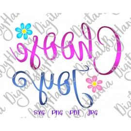 Download Inspirational SVG Files for Cricut Sayings Choose Joy SVG ...