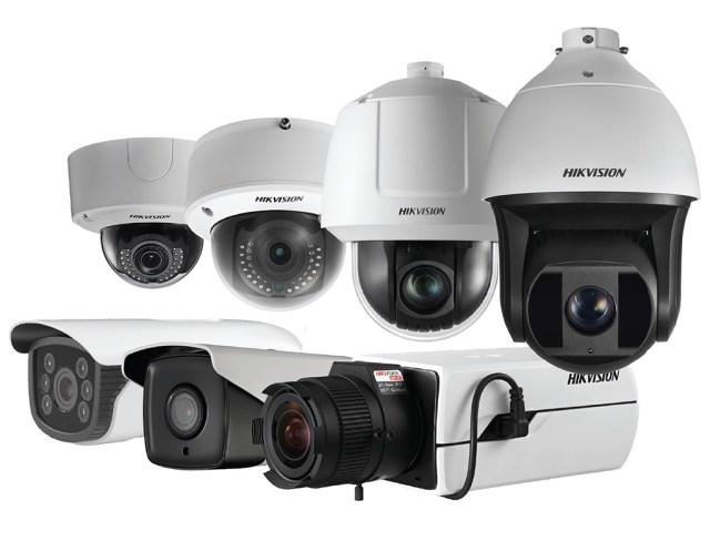 Quelques exemples de caméras de surveillance Hikvision securité video