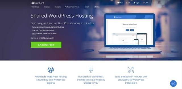 wordpress shared hosting for your blog