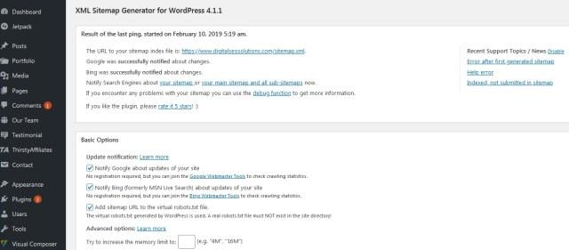 Google XML Sitemaps Plugin for XML Sitemap Creation