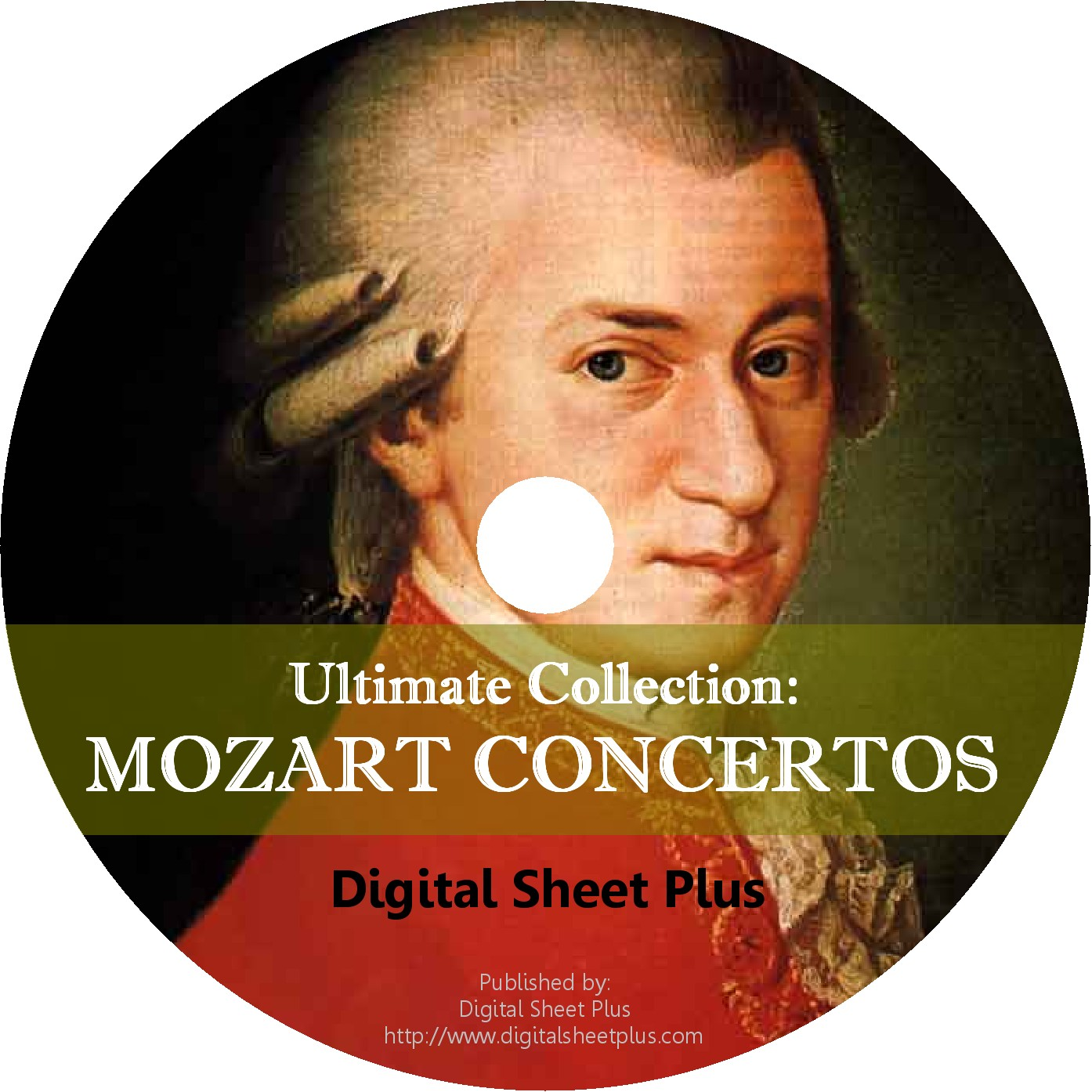 Mozart Concertos Sheet Music Ultimate Collection Cd