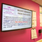 Crowne Plaza Dulles & Conference Spaces get a Digital Signage Upgrade