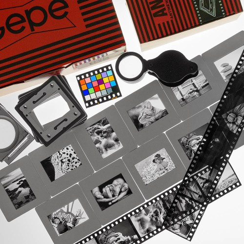 Monochrome 35mm slides