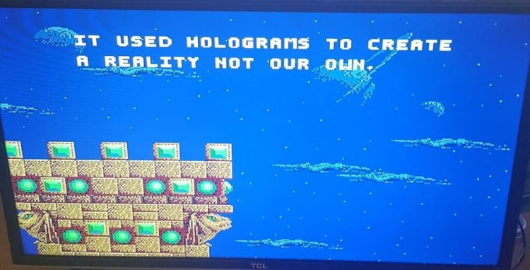 Image from the 1992 Sega Genesis game Kid Chameleon