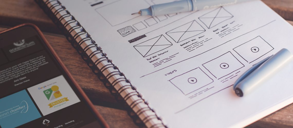 Web Design starting Inspiration