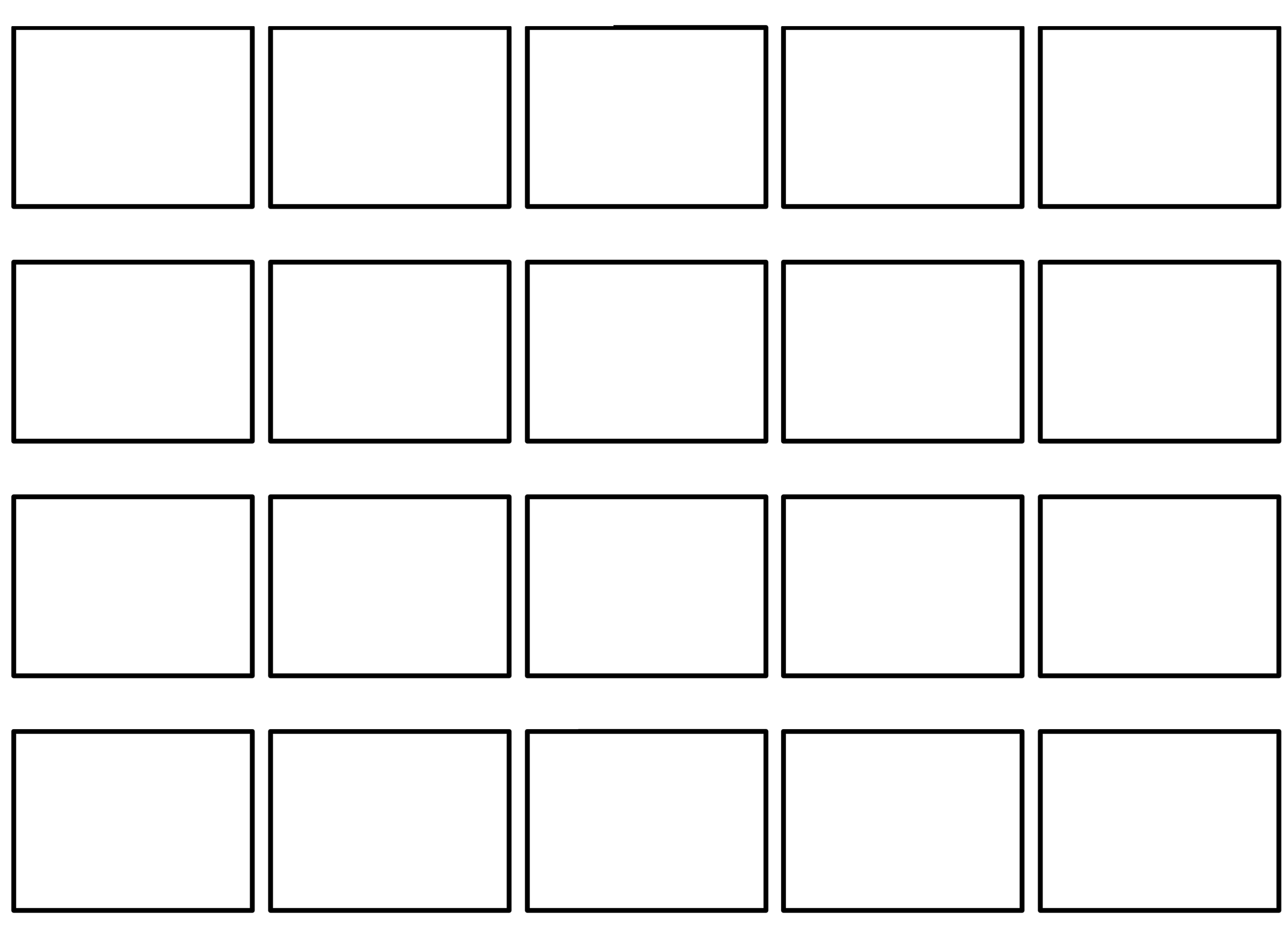 Free Professional Commercial Storyboard Template Max Forward