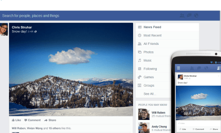 Facebook Update – Means 'New' News Feed!