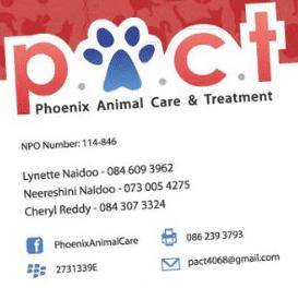 Phoenix Animal Care & Treatment… Make Your Pledge Now!