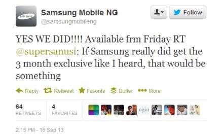 BBM Android App hits Samsung Galaxy phones this Friday