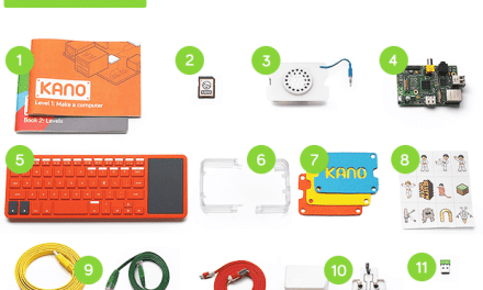 Kano kit – Create your own low-cost Raspberry Pi computer