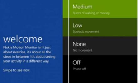 Nokia launches Motion Monitor physical activity tracker for Lumia 1520