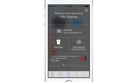 Apple tries to guide you inside its stores with iBeacon