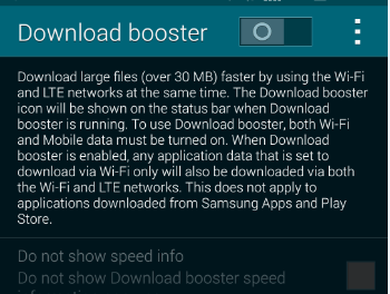 How To: Enable Download Booster On Your Galaxy S5 in South Africa