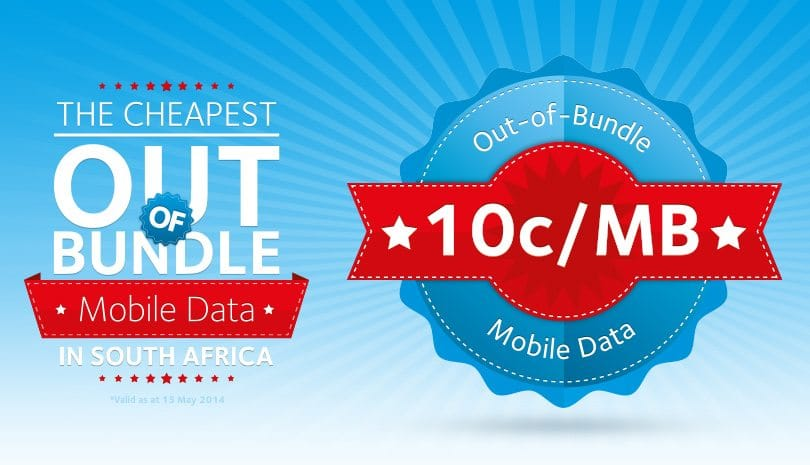 Afrihost launches 10c/MB out of bundle rate