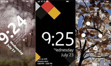 Windows Phone 8.1 users get a taste of the all new Live Lock Screen