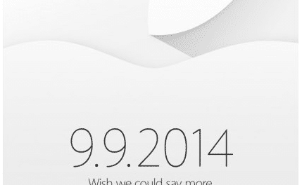 iPhone 6 Launch Expected on 9th September 2014, official invitation sent by Apple