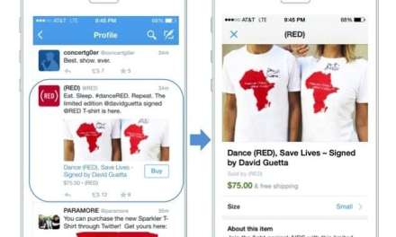 Twitter Unveils 'Buy' Button on Tweets