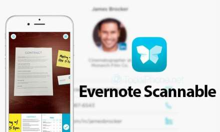 iPhone and iPad Receives Scannable App Courtesy Of Evernote