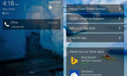 Microsoft Picturesque Lock Screen App now available for download on Google Play Store